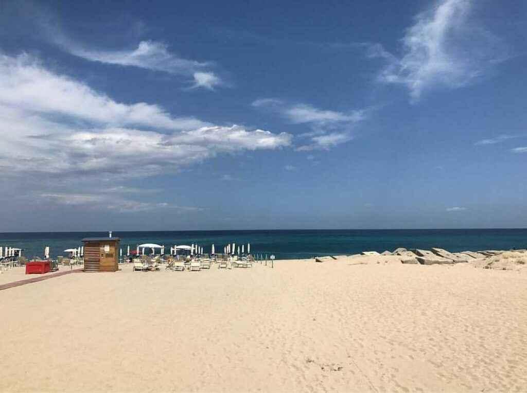 Пляж Сапри, Чиленто