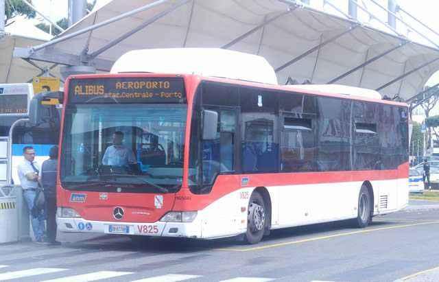Автобусы Alibus, Неаполь