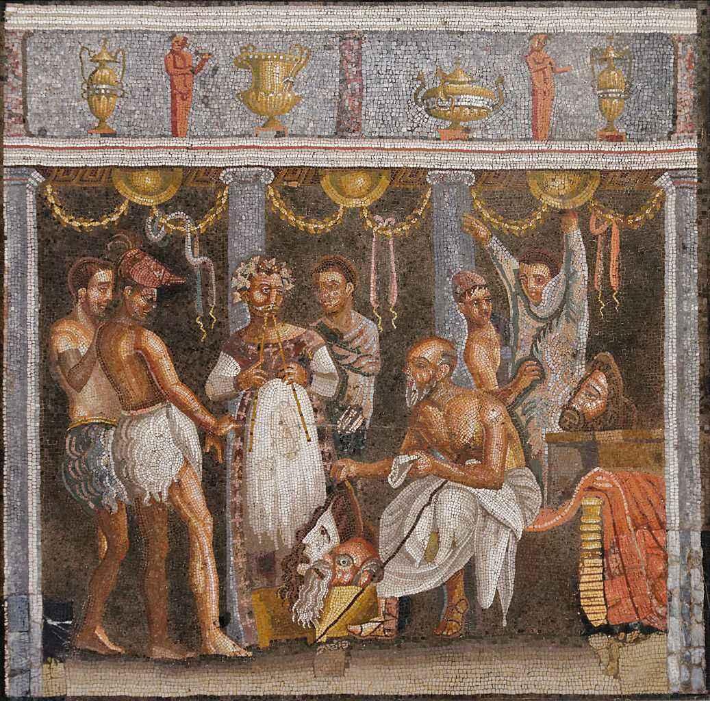 Мазаика из Помпеи